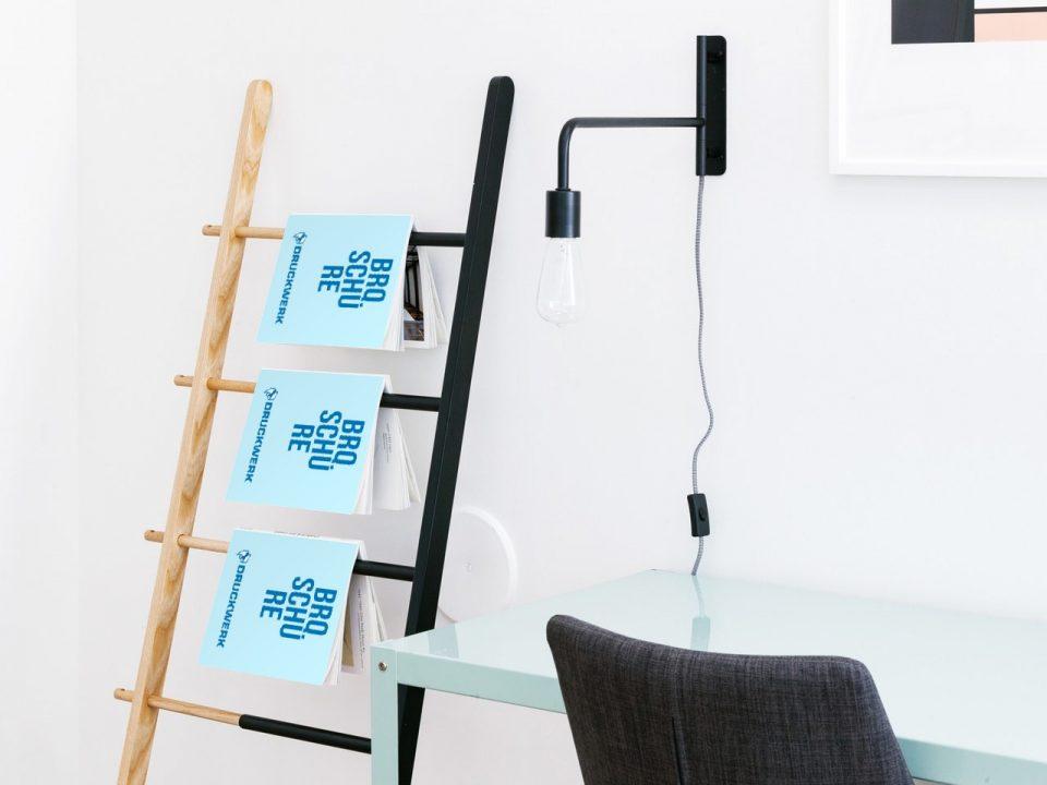 Druckwerk GmbH –Portfolio, Broschüren, Mockup