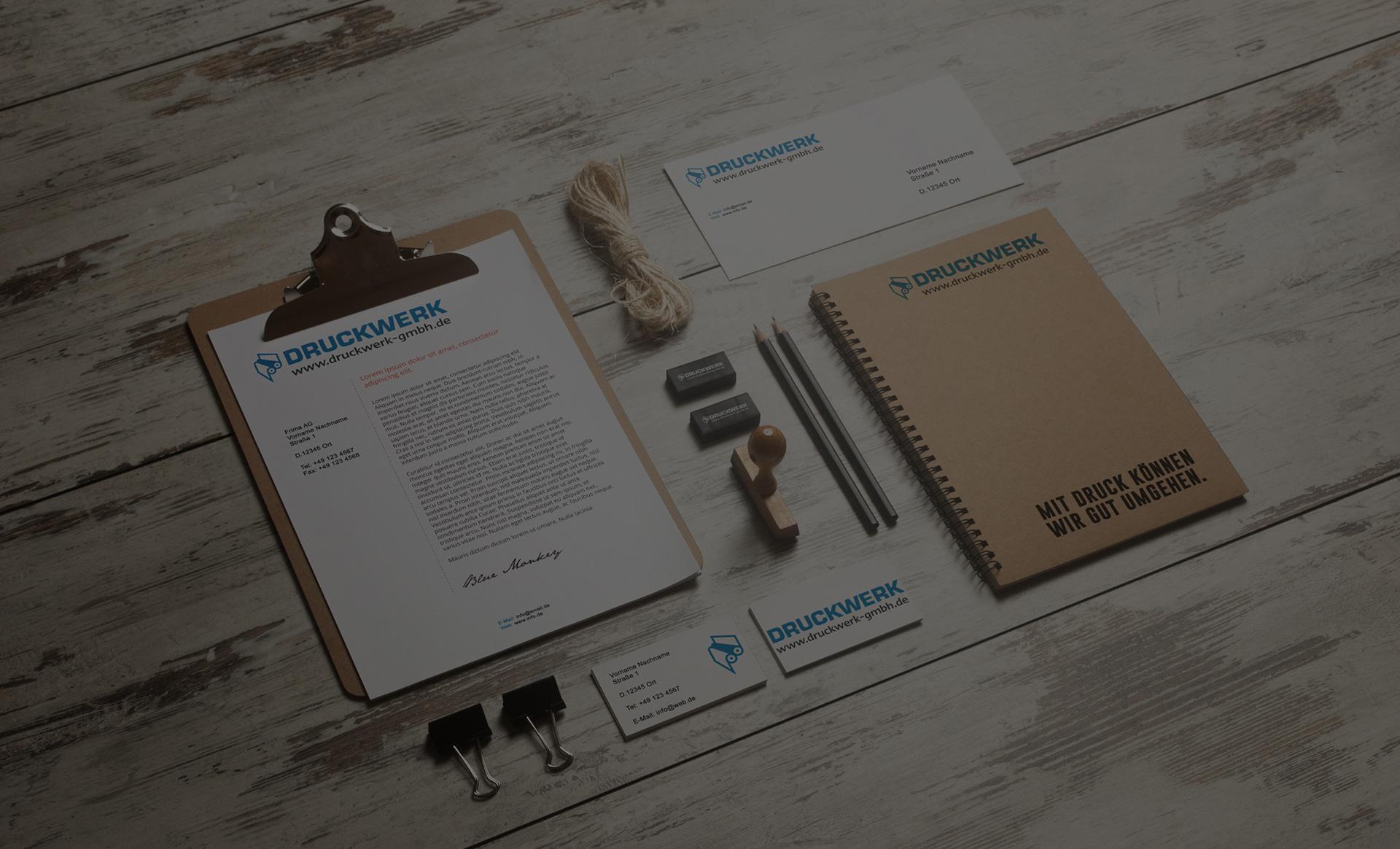 Druckwerk GmbH –Slider, Background