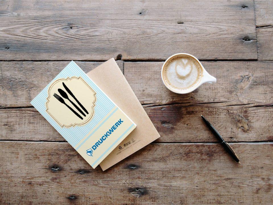 Druckwerk GmbH –Portfolio, Einladungskarten, Mockup