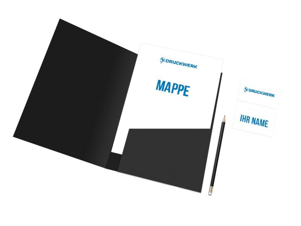 Druckwerk GmbH –Portfolio, Mappen, Mockup